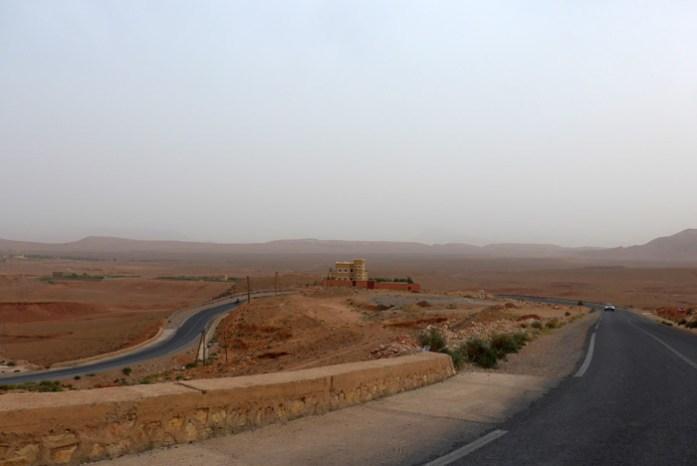 Viagem de mota por Marrocos. Gorges du Todgha