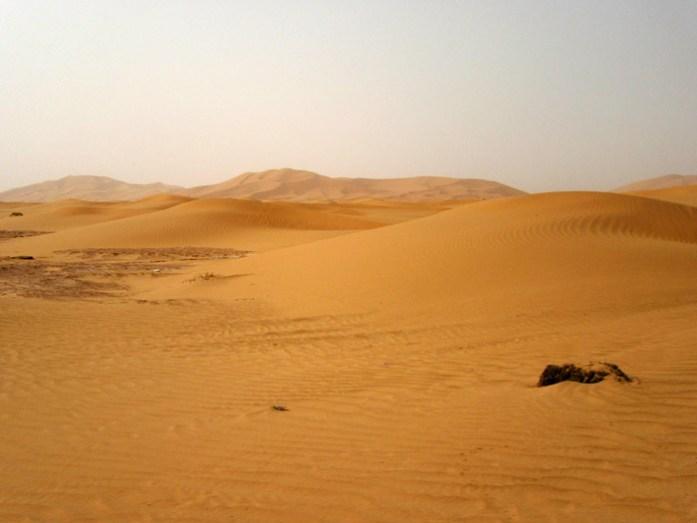 Nas dunas do Erg Chebbi