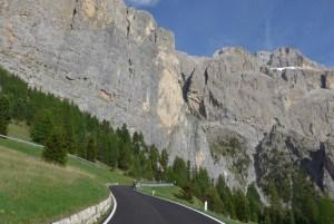 De mota nas Dolomites - Passo Gardena