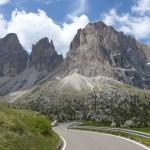 Pela Itália de mota nas Dolomites