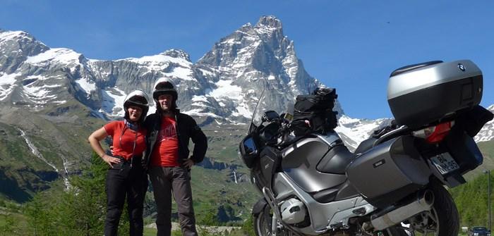 Roteiro de viagem de mota pelas curvas alpinas