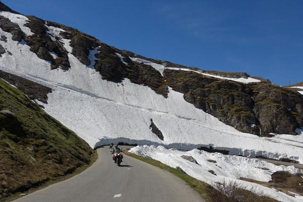 Na descida de Col D'Iseran para Vale D'Isère