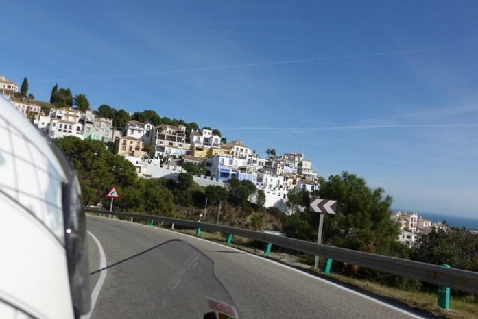 Roteiro de mota pela Andaluzia. Em Marbella