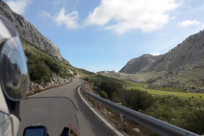 Na Andaluzia em A-372 Grazalema. A melhor estrada da Ruta de los Pueblos Blancos