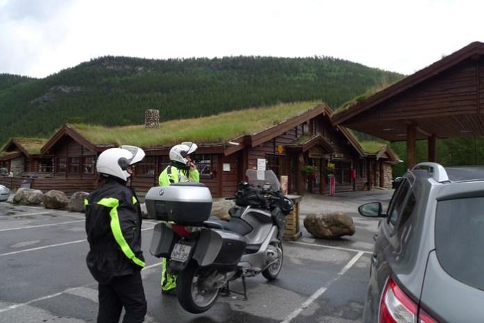Estação de Serviço na Noruega.