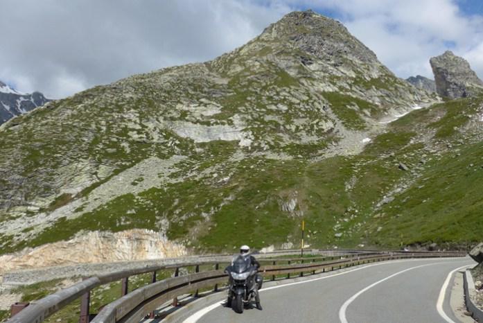 Do Vale de Aosta até ao topo do Col du Grand Saint Bernard