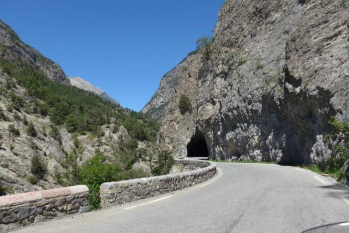 Pela D902 a caminho do Col D'Izoard.