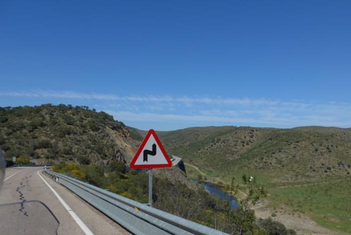 Pelo Parque Natural do Tejo Internacional.