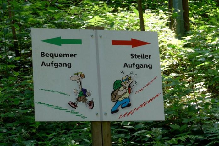 Em Triberg. Visita às Cascatas de Triberg.