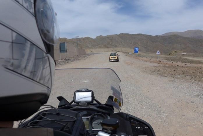 Percurso entre Marraquexe e Ouarzazate. Em Tizi n'Tichka