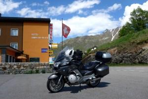 Estradas de Montanha nos Alpes. Simplon pass.