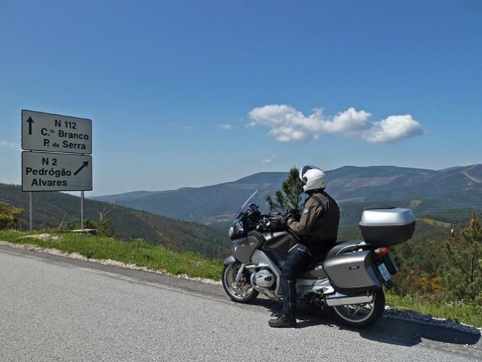 O percurso pela Serra da Lousã na Estrada N2.