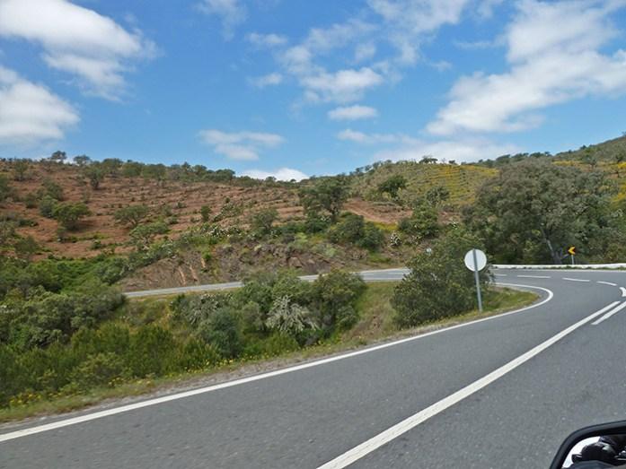 Serra do Caldeirão. Estrada N2