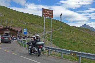 Jaufenpass ou Passo di Monte Giovo. De moto nas melhores estradas dos Alpes