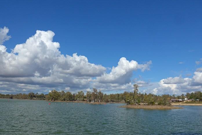 Praia Fluvial da Tapada Grande. Mina de S. Domingos