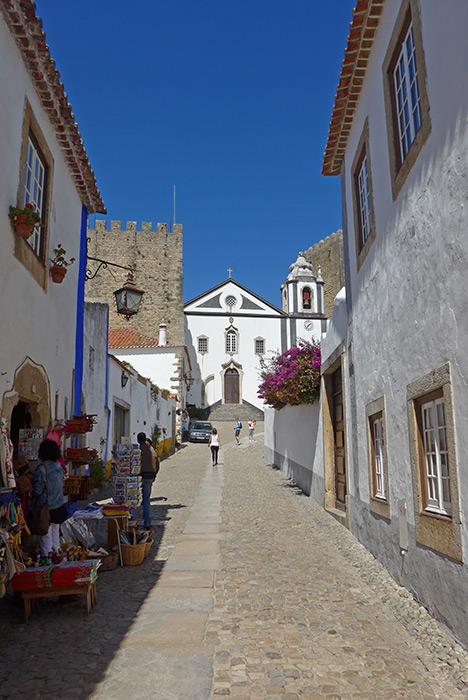 Vila de Óbidos. Roteiro pela Estrada Atlântica.