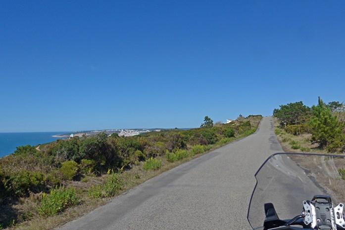 Serra de Mangues. Estrada Atlântica.