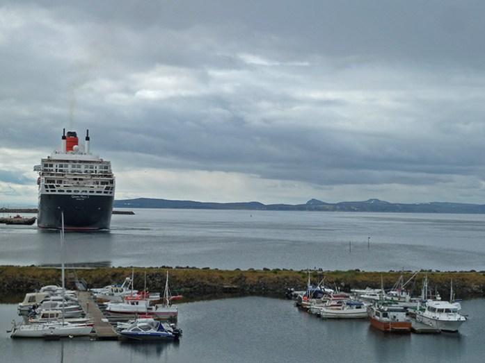 Porto de Honningsvåg. Noruega
