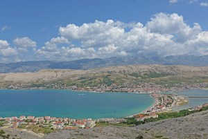 Península de Pag. Croácia