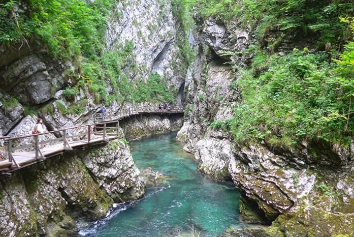 Soteska Vintgar - Locais a não perder na Eslovénia