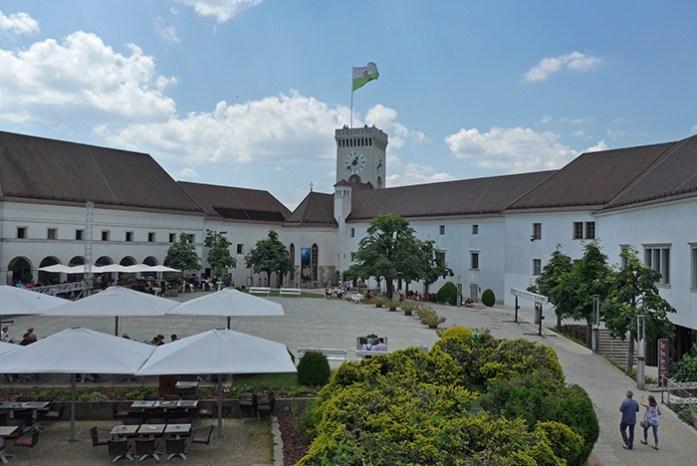 Castelo de Liubliana, Eslovénia