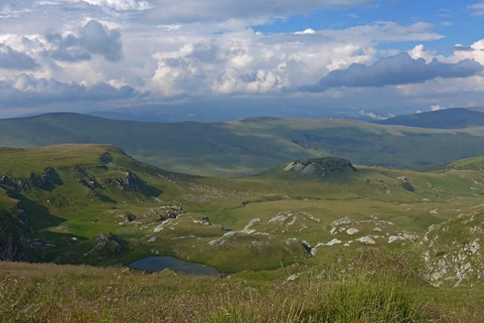 Transalpina, Região da Transilvânia, Roménia