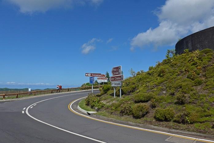 Estrada ER9, Sete Cidades, Ilha de São Miguel