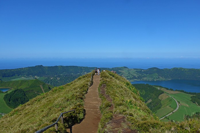 Miradouro Boca do Inferno, Lagoa das Sete Cidades, Ilha de São Miguel, Açores