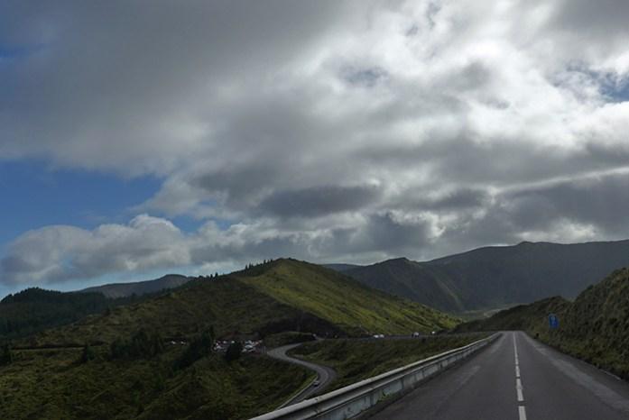 Estrada EN5-2A, Lagoa do Fogo. Ilha de São Miguel