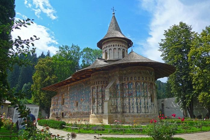 Rota dos Mosteiros de Bucovina. Mosteiro de Voronet
