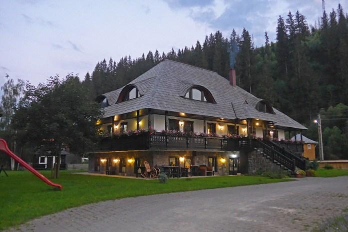 Pensão La Moara, Fundu Moldovei, Norte da Roménia