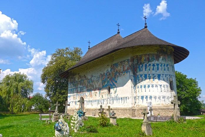 Rota dos Mosteiros de Bucovina. Igreja de Arbore