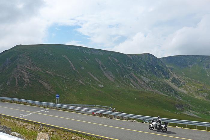 Estrada Transalpina. Parang Moutains, Roménia