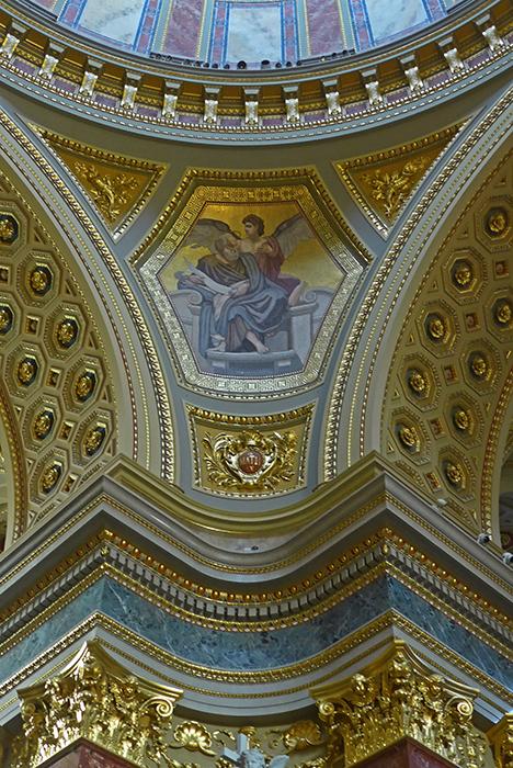 Basílica de St. Stephen's. Em Budapeste. Hungria