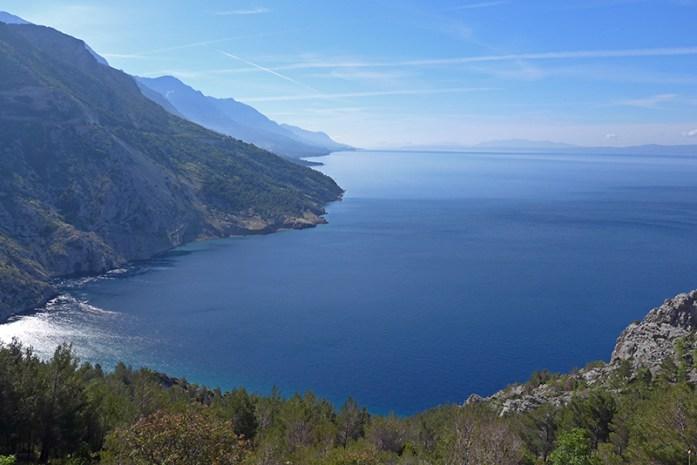 Roteiro pelos Balcãs. Estrada Costeira N8. Cróacia