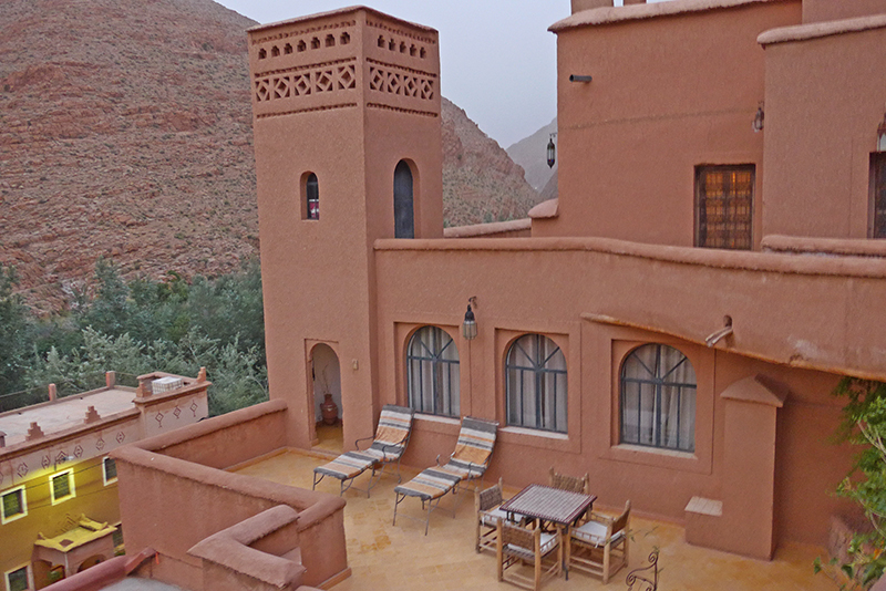Onde dormir em Marrocos? Aubergue Chez Pierre, Gorges du Dadés