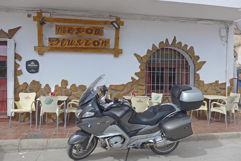 Restaurante Meson Ilusión em Gorafe.