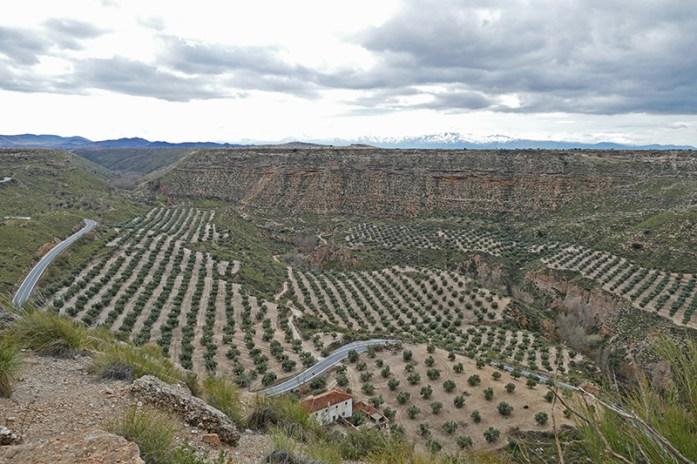 Deserto de Gorafe. Viagem de moto pela Andaluzia. Sul de Espanha