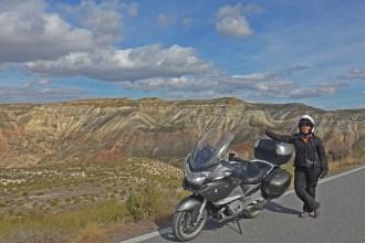 Deserto de Gorafe. Viagem de moto pela Andalucia