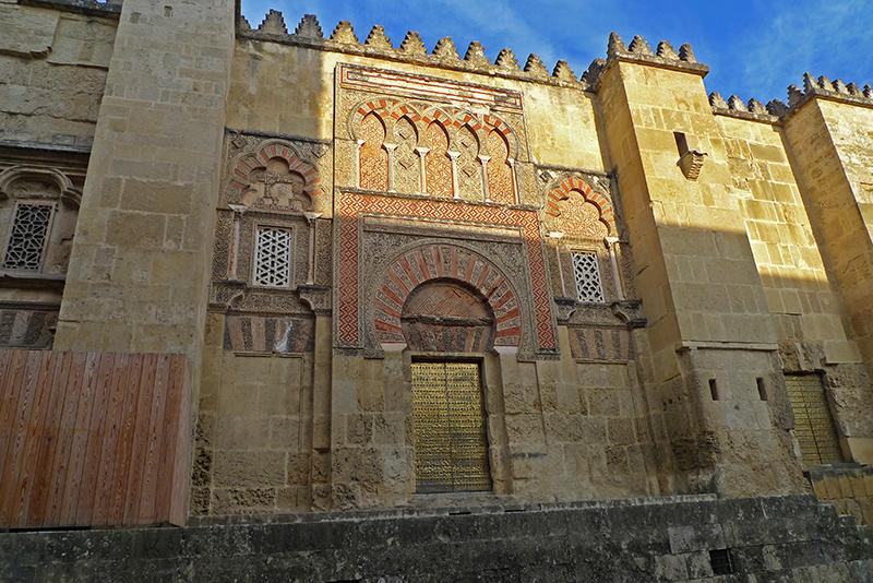 Viagem de mota pela Andaluzia. Na cidade de Córdoba