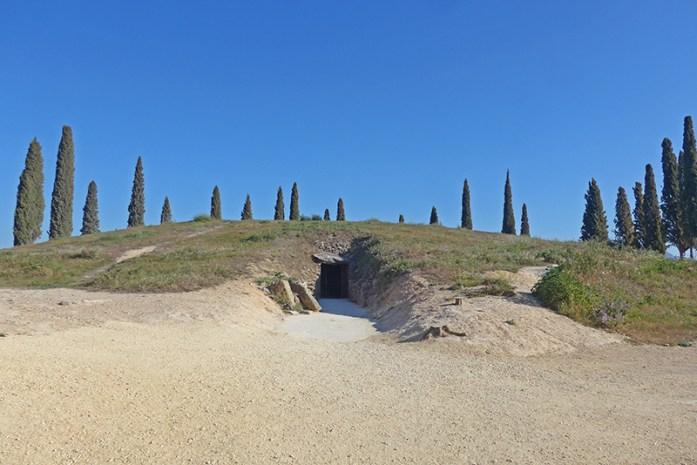 Rota do Megalítico de Antequera. Dolmen El Romeral