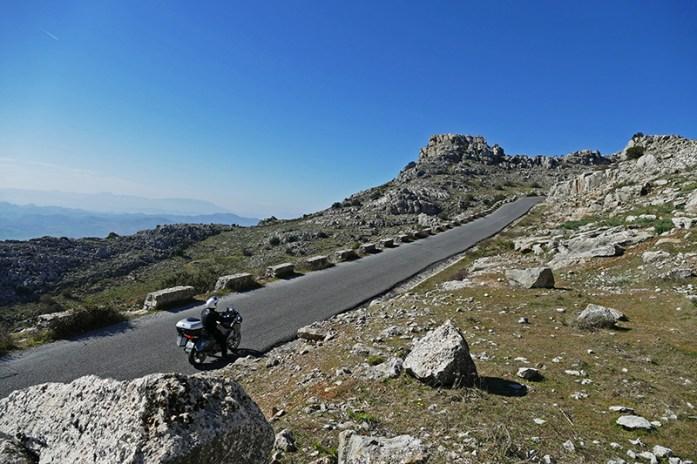Viagem de moto pela Andaluzia, El Torcal de Antequera, Andaluzia, Sul de Espanha