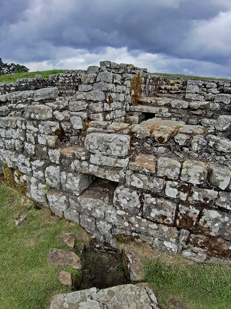 Housesteads Roman Fort, Hadrien's Wall