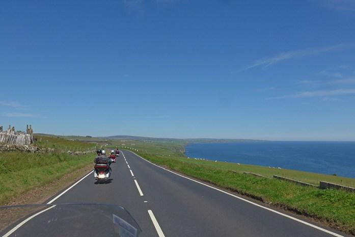 Estrada A9, Rota da NC500 a caminho de Jonh Ogroat's