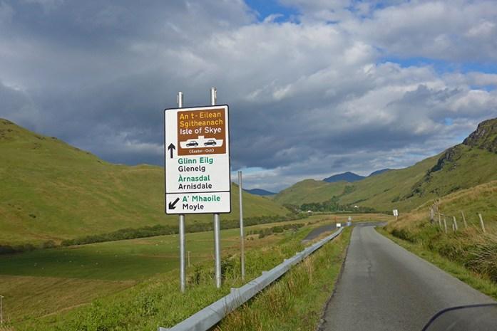 Glenelg, Old Military Road