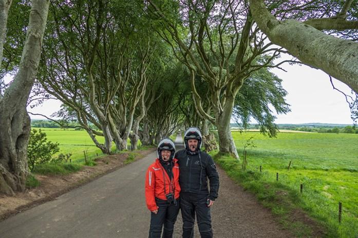Visitar a Irlanda do Norte. Viagem de mota pelo Reino Unido e Irlanda