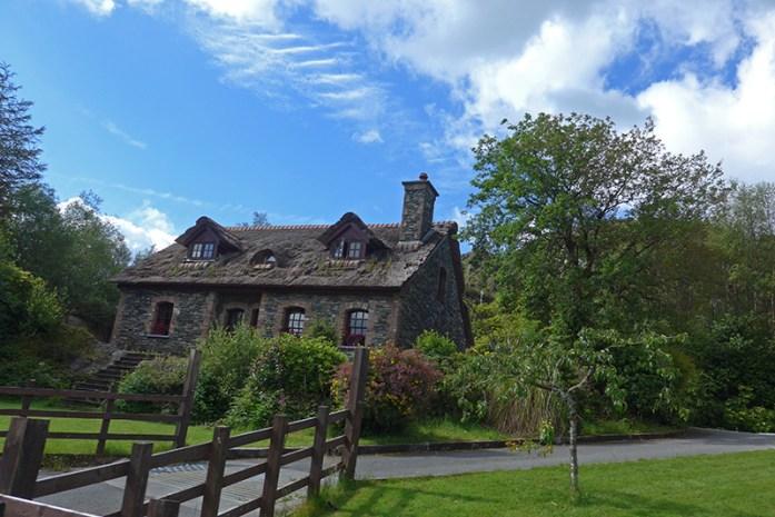 Casa tradicional em Blackvalley. Extremo sul de Gap of Dunloe