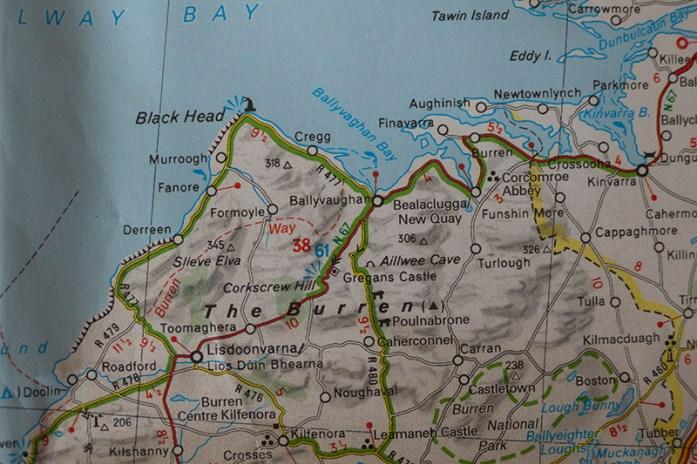 Mapa Michelin Irlanda