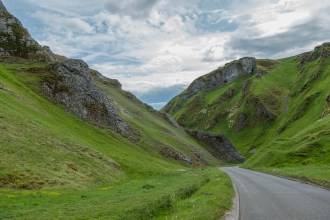 Winnats Pass, Castleton, Peak District