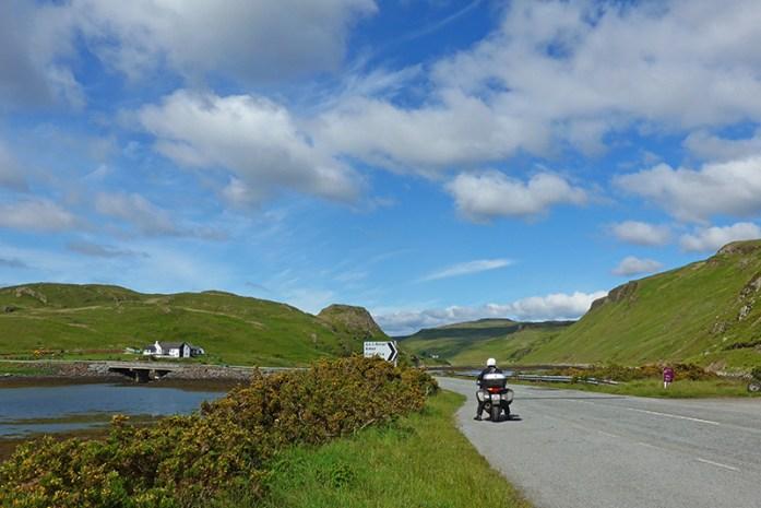 Dunvegan a Sligachan, o coração de Skye. Estrada A863